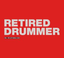 Retired Drummer Kids Clothes
