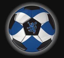 Scotland - Scottish Flag - Football or Soccer by graphix