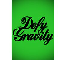 Defy Gravity - Wicked Reference Photographic Print