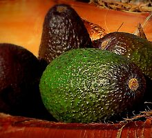 Still Life With Avocados by paintingsheep