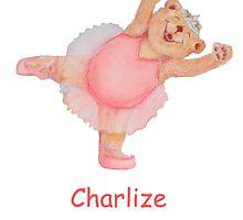 Charlize Ballet Bear by Monica Batiste