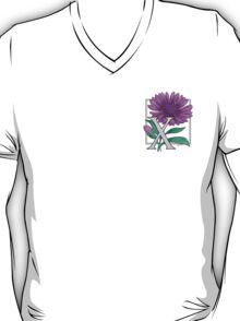 X is for Xeranthemum card T-Shirt
