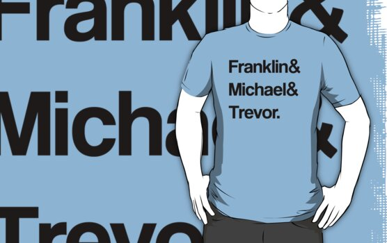 Franklin and Michael and Trevor. by ScottW93