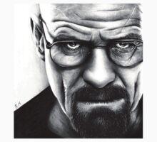 Walter White - Portrait by HarryJMichael