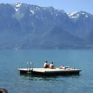 Floating on Lac Léman by John Douglas