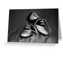 50s Dance Greeting Card
