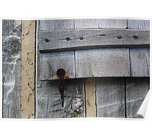 Window Hardware 3 Tan Horizontal Poster