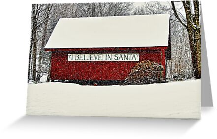 I Believe In Santa by JHRphotoART