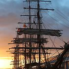 Tall Ships - Hobart early morn by gaylene