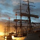 Tall Ships - Tasmania,  21 Sept 2013 by gaylene
