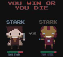 Stark vs Stark - You Win or You Die by innercoma