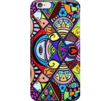 Coloured war between the head and the heart iPhone Case/Skin