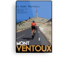 Ventoux Climb Metal Print