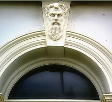 Half Moon Window & Ornament - Williamstown Vic. by EdsMum