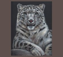 Snow Leopard Portrait by Nicole Zeug