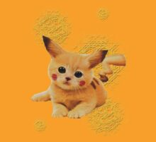 Pikachu Cat by LucePrice