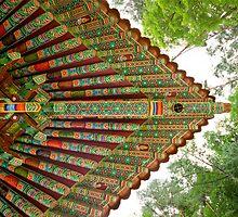 Guinsa Temple Patterns, South Korea by Belle  Nachmann