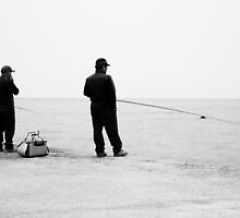 Fishermen Friends, Jeju Island, South Korea by Belle  Nachmann