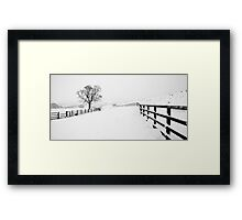 A Winter's Walk (2) Framed Print