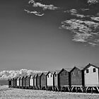 Muizenberg Huts by Dan Edwards