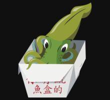 Green Squid Box by Christina McEwen