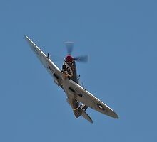 Spitfire Smiling For The Camera, Avalon Airshow 2013 by muz2142