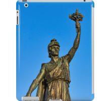 VICTORY AND PEACE - ELGIN WAR MEMORIAL iPad Case/Skin