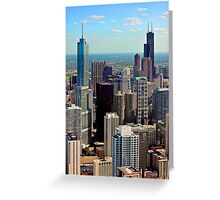 THE ASTONISHING CHICAGO BUILDING ARCHITECTURE Greeting Card