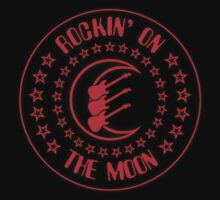 Rockin' On The Moon decoration Clothing & Stickers by goodmusic
