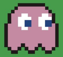 Pink ghost - Pacman by playwell