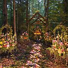 Forest Wedding Chapel by Debbie  Maglothin
