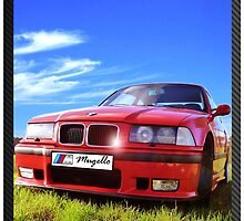 Bmw M3 Mugello red by Picshell80