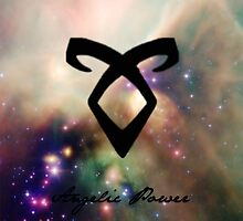 The mortal instruments : Shadowhunter rune - Angelic Power by venussabetkar
