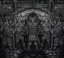 warriors  by mrivserg