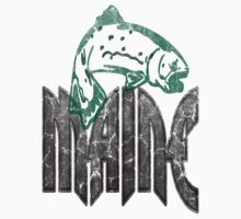 FISH MAINE VINTAGE LOGO by phnordstrm