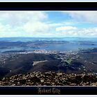 *HOBART CITY*from*MOUNT WELLINGTON* by Ritchard Mifsud