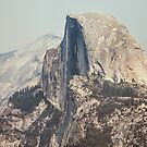 Half Dome in Yosemite National Park by visualspectrum