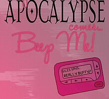 Buffy the Vampire Slayer Apocalypse by geekchicprints