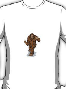 Big Foot Pointing T-Shirt