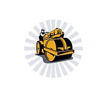Road Roller Compactor by patrimonio