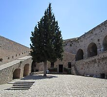 Palamidi fortress in Nafplio by Eleanor11