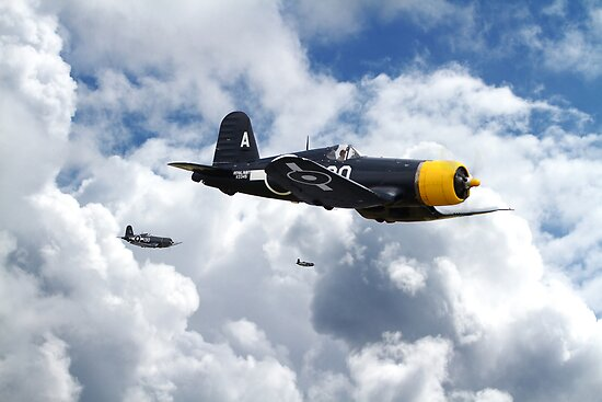 Vought Corsair - Mission Strike by warbirds