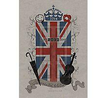 Sherlock Holmes inspired crest Photographic Print