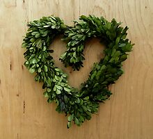 Leafy Heart by Fay Freshwater