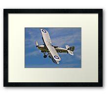 Hawker Hind K5414/XV G-BTVE Framed Print
