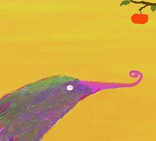 hungry bird by rysunki-malunki