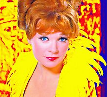Shirley MacLaine in What a Way to Go! by Art Cinema Gallery