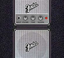 Fender Amp i Phone 4/4S Deflector by goodmusic