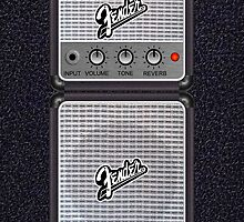 Fender Amp i Phone 5/5S Deflector by goodmusic