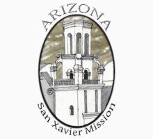 San Xavier Mission East Tower T-Shirt